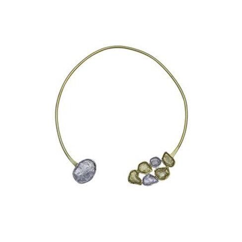 Hasli, Two- tone  necklace