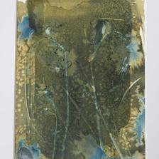 Abstract Exmoor Bluebells