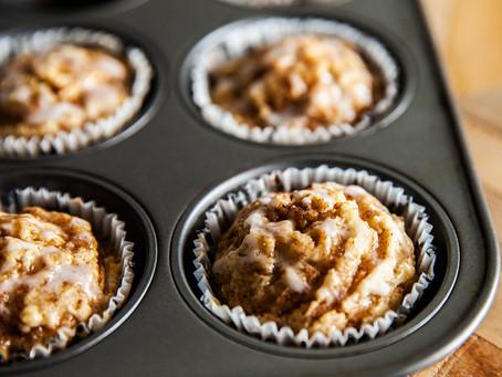 Gluten Free Cinnamon Bun Muffins