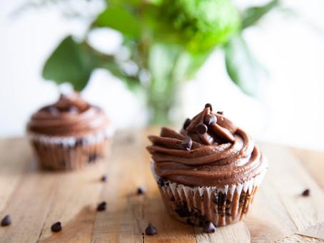 Date Night Triple Chocolate Cupcakes