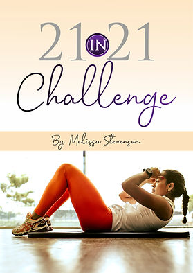 21 in 21 Challenge by Melissa Stevenson.