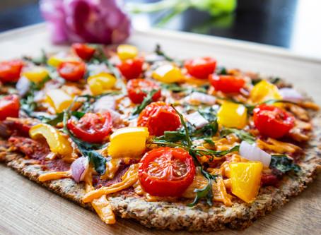 Cauliflower Flatbread (gluten free/dairy free/vegan)