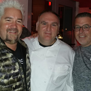 Guy Fieri and Chef Jose Andres
