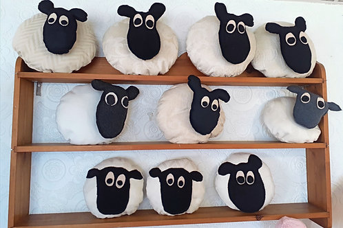 Assorted sheep cushions  (sold separately)