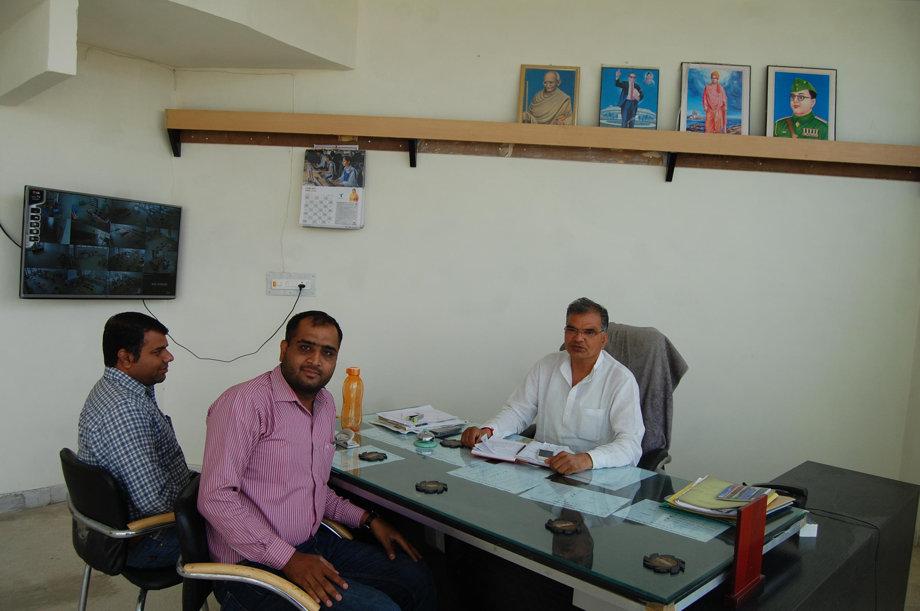 Director's Office- Dalu Ram Chahar |