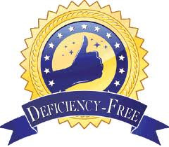Greenwood Awarded Deficiency Free Survey!