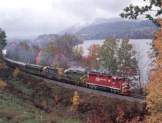 Scenic and Historical Train Rides Across New England