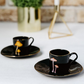 Mushroom espresso cups