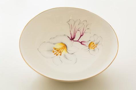 Lillies soup bowl