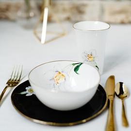 White Lilies breakfast set