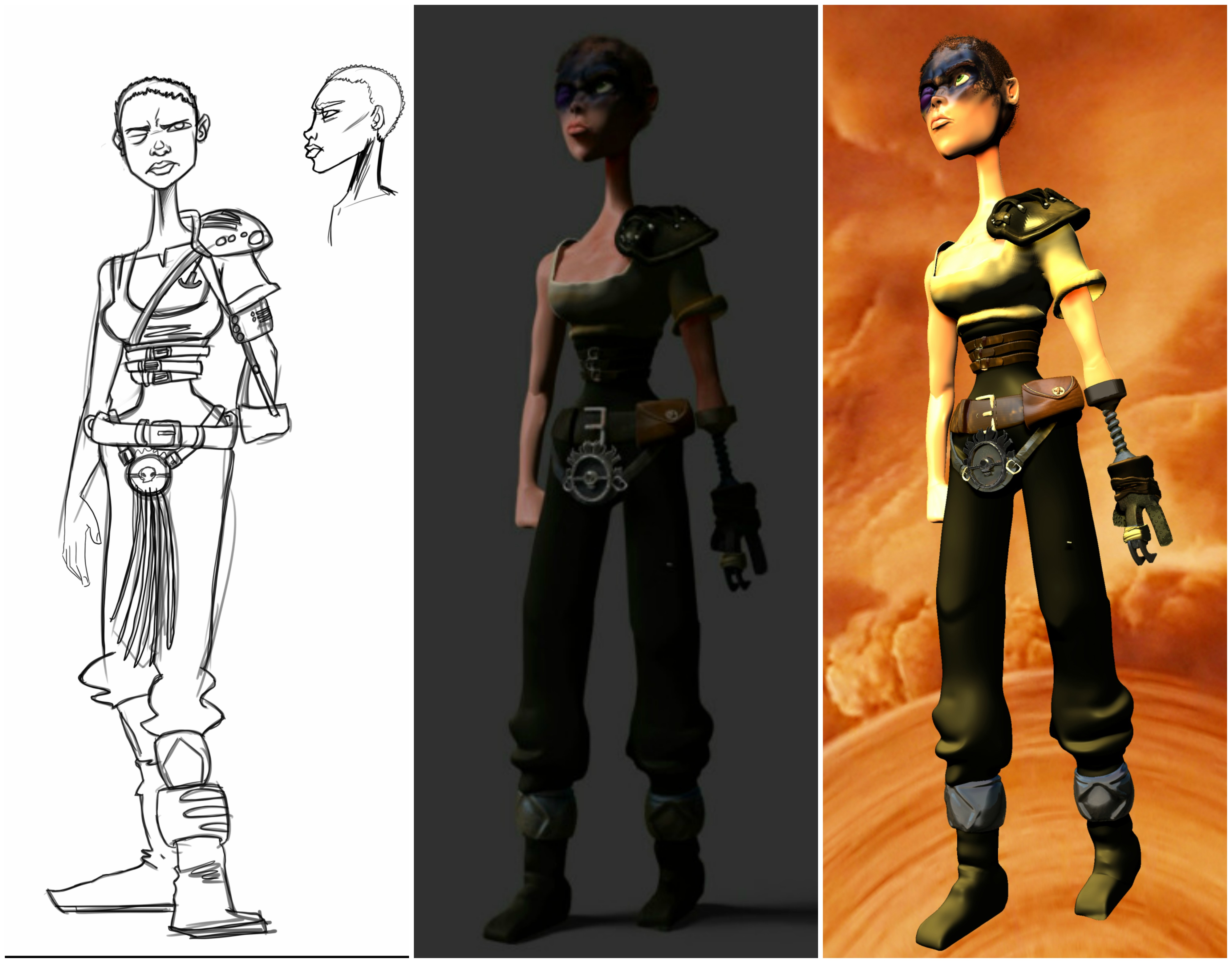 Furiosa - From concept to model