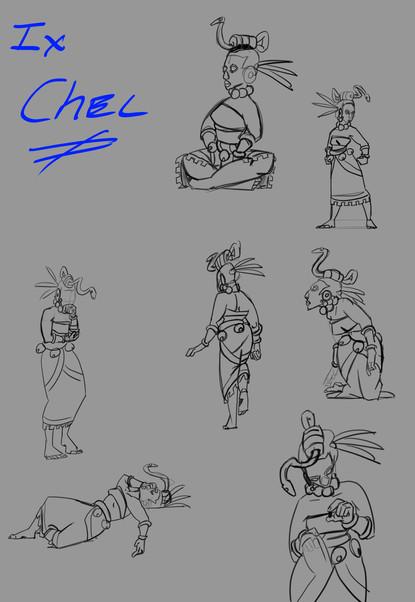 IXCHEL Character Study