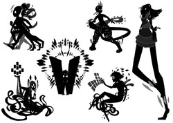 Character Design Silhouette