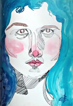 Blue - Self Portrait