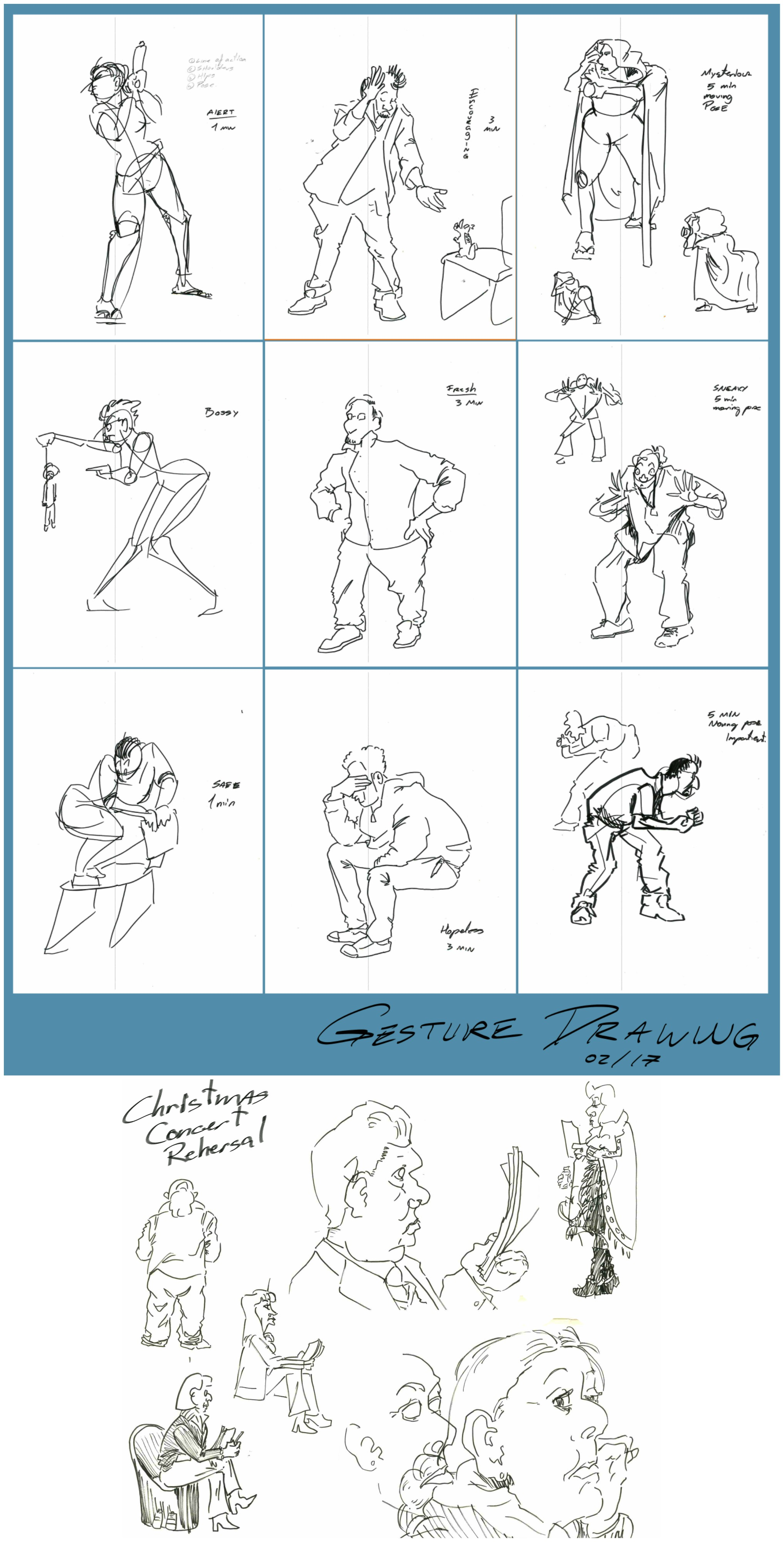 Gesture Drawing Classes