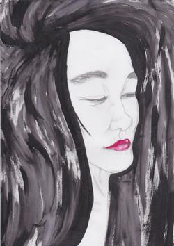 Portrait to Naomi