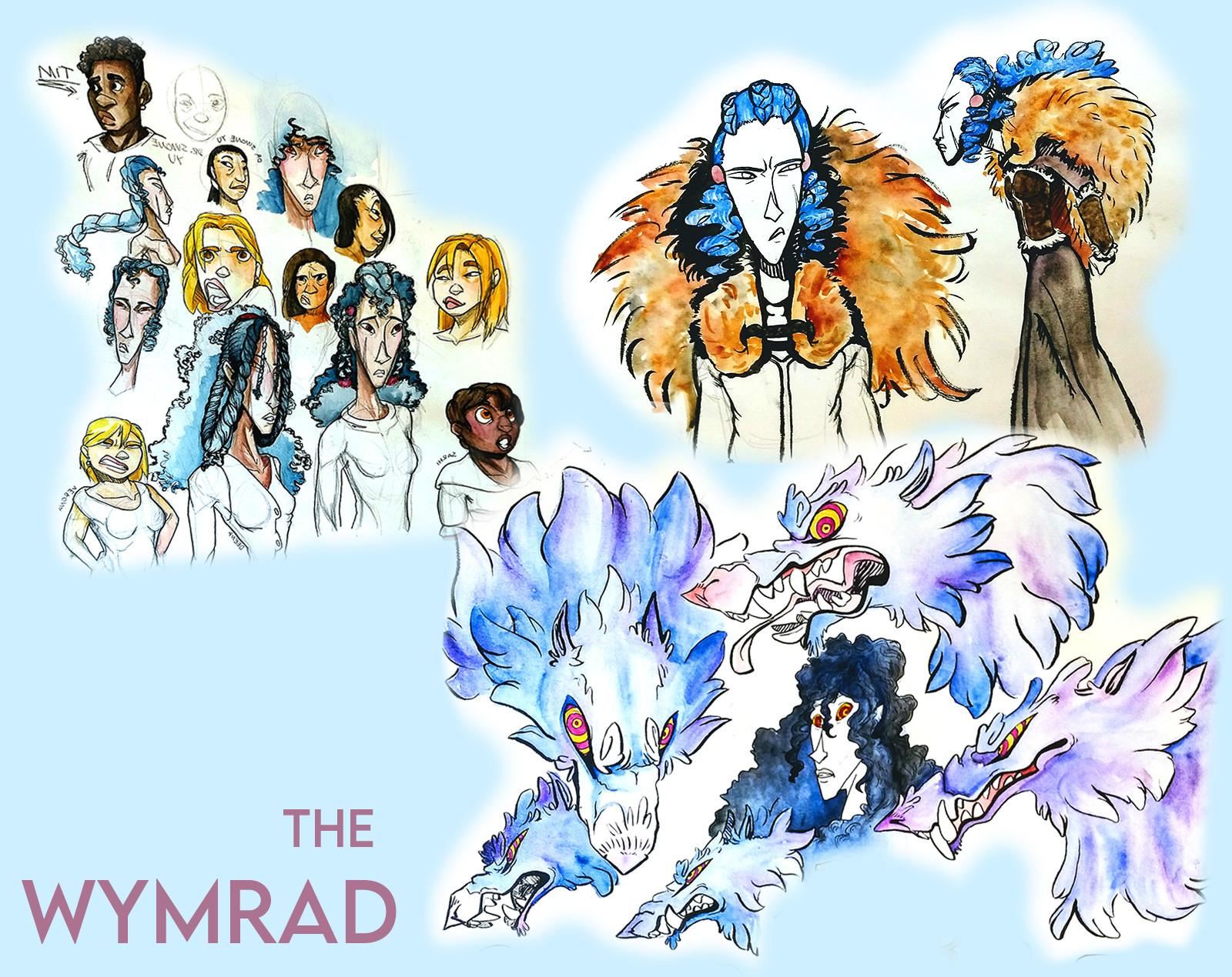 Wymrad sketches