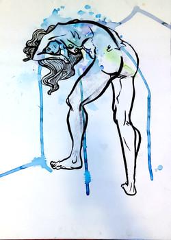 Blue - Figure Drawing