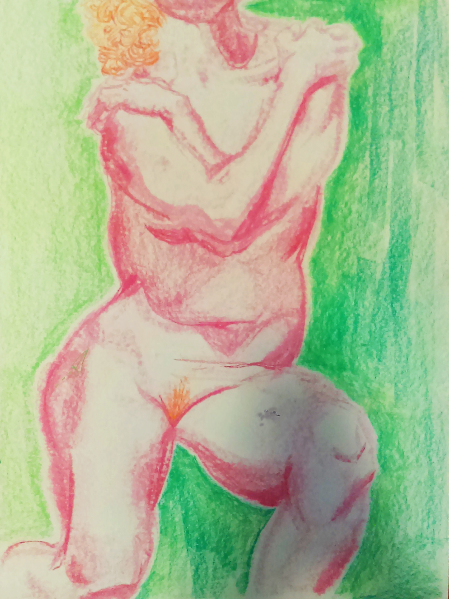 Watermelon - Life Drawing