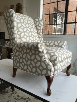 RECLINER REUPHOLSTERY