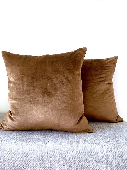 MADE TO ORDER PILLOW COVERS: KNIFE EDGE, SQUARE