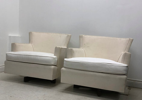 RESTYLE Finds: Swivel tub chair pair