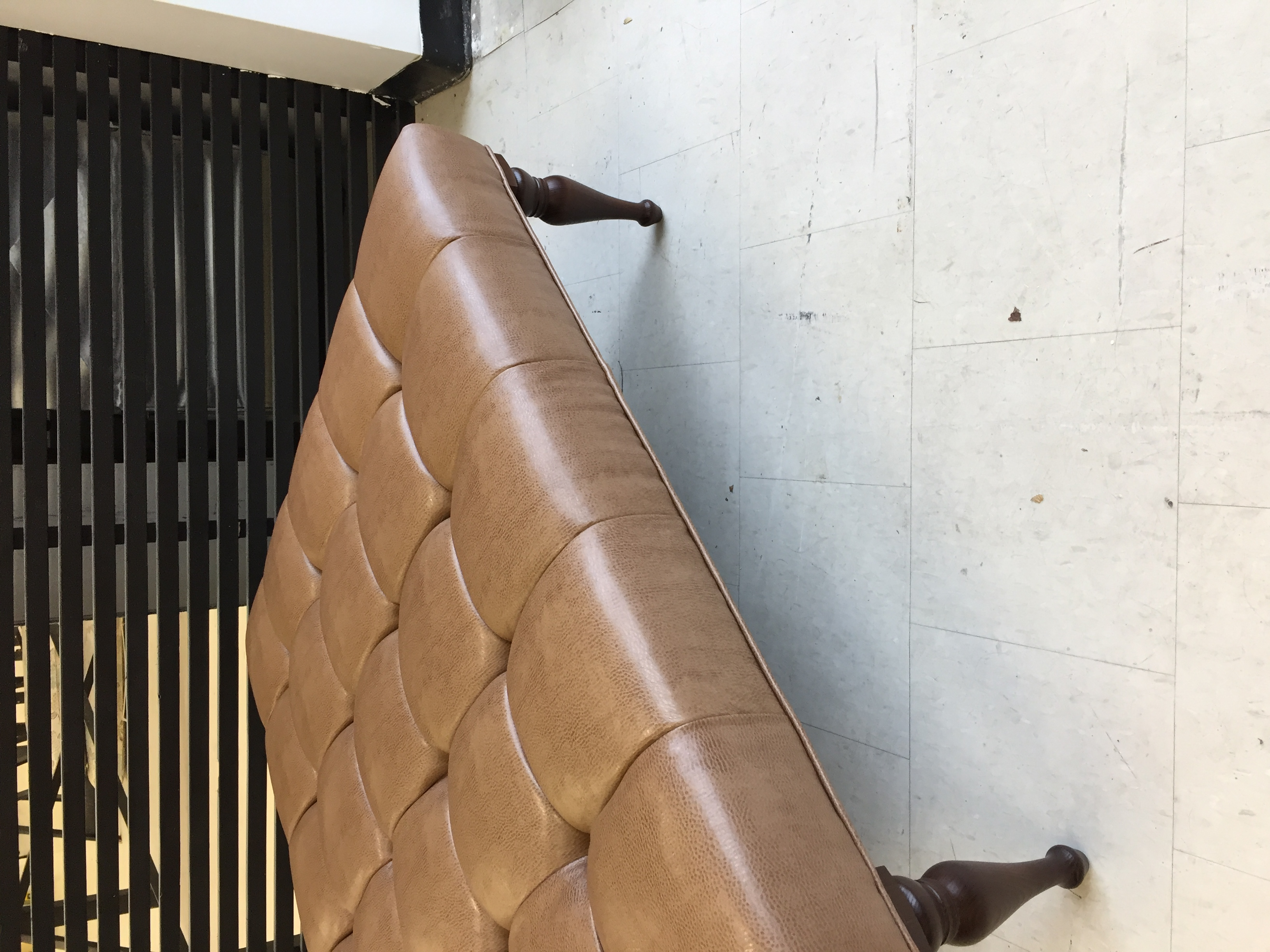 FAUX LEATHER REUPHOLSTERY
