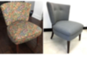 Toronto upholstery before and after