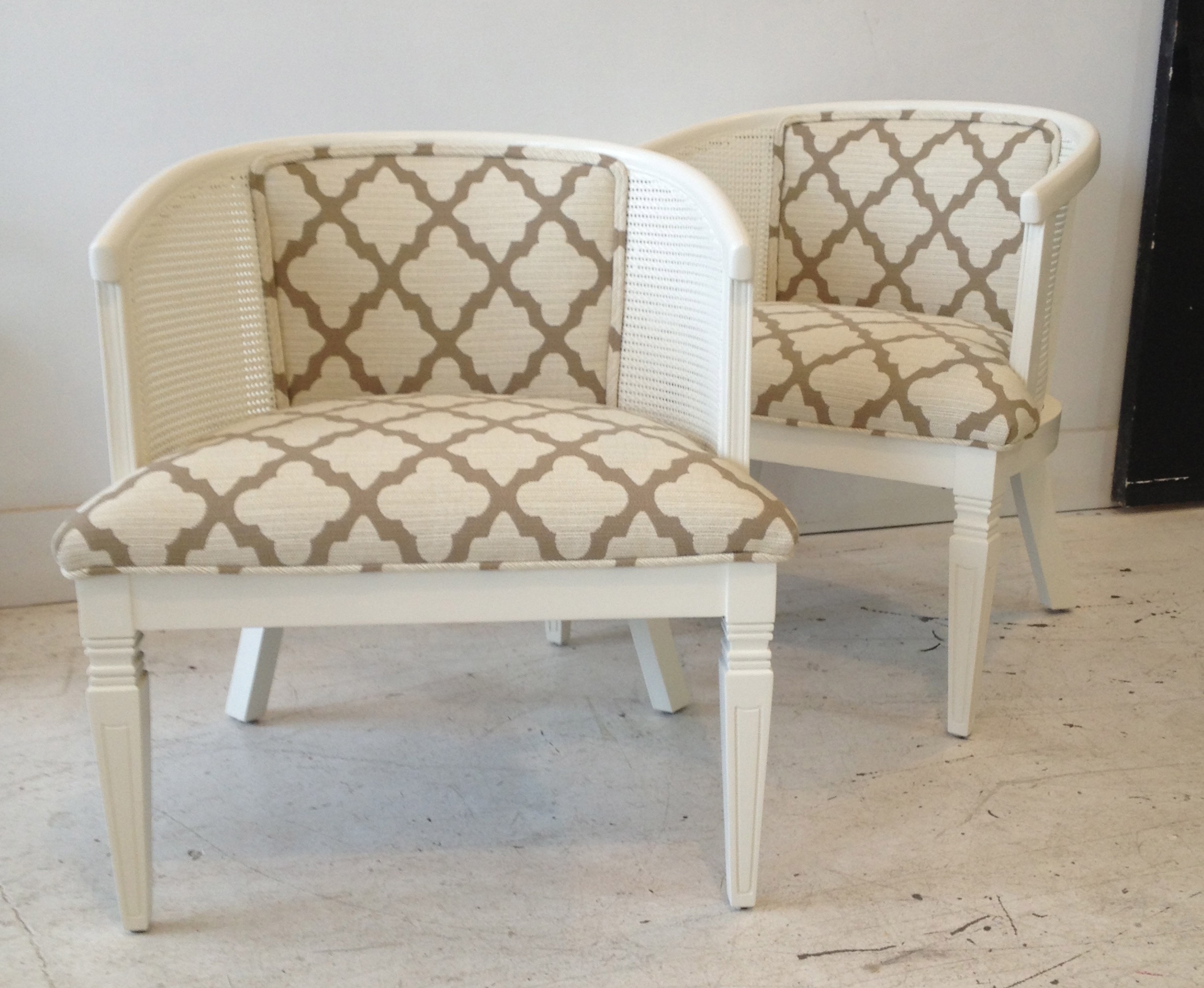 REUPHOLSTERY + PAINTING