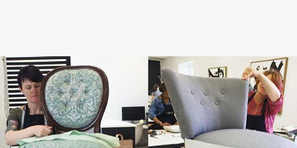 Weekend Reupholstery Workshop - RESCHEDULE TBD