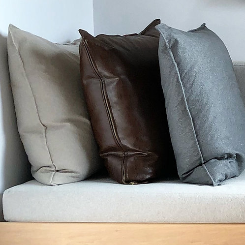 MADE TO ORDER PILLOW COVERS: FLANGED EDGE, SQUARE