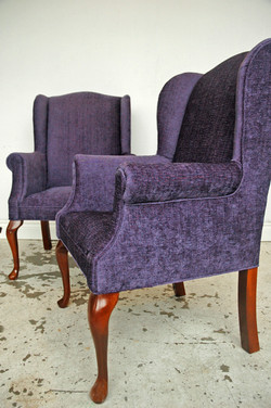 WING CHAIR REUPHOLSTERY