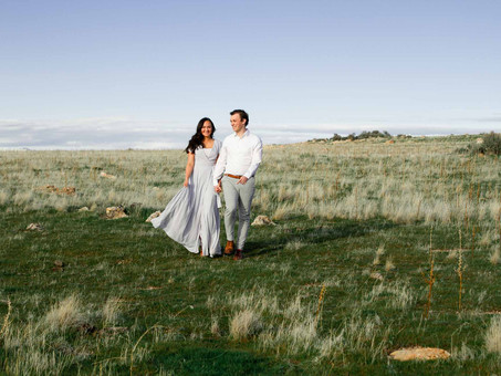 Antelope Island Anniversary - Jake & Zoë