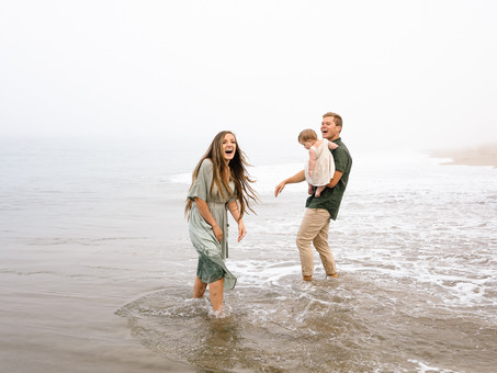 Point Dume Beach Family Session - The Andersens