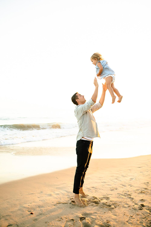 Crystal cove California family photo session, Orange county beach family photography