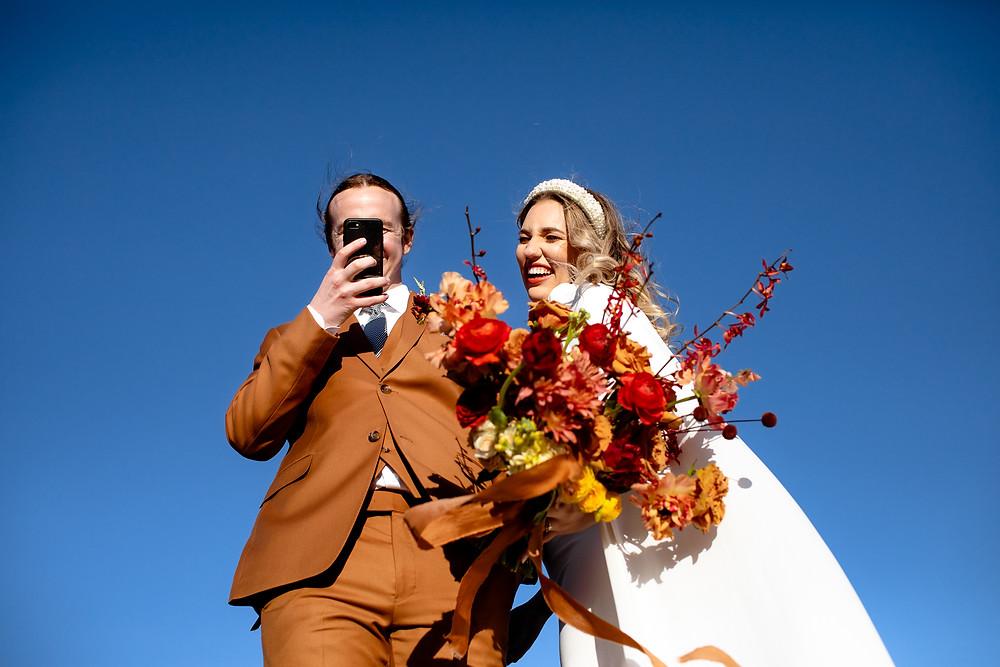 Adventurous Elopement Hiking Trail | Malibu Wedding | Socal Bride and Groom | Malibu Wedding Photographer | California Elopement Photography