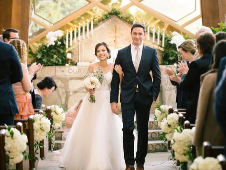 Wayfarer Chapel, Palos Verdes Wedding - Kelly & John