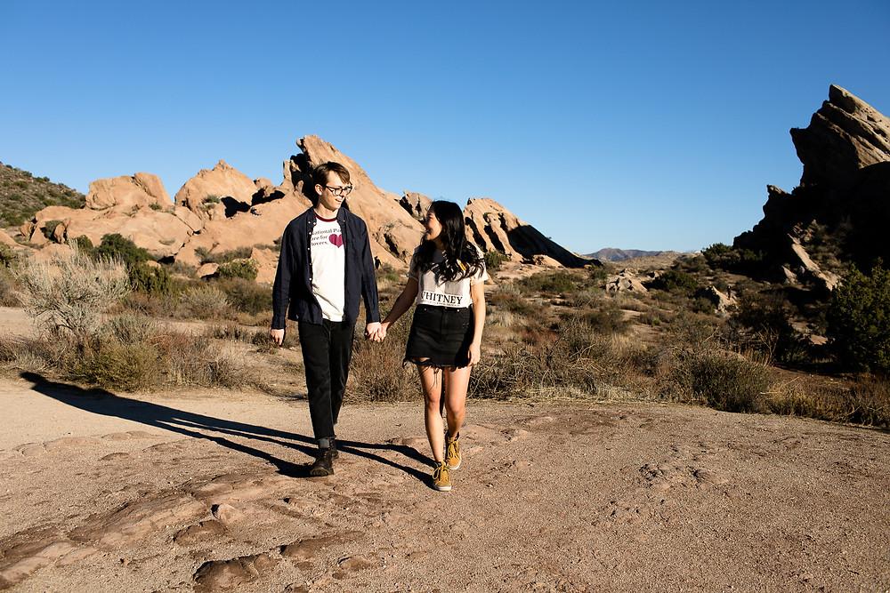 Vasquez Rocks Engagement Session | Los Angeles Couples Photos | Desert Engagement | Los Angeles Engagement Session Location | Los Angeles Wedding Photographer