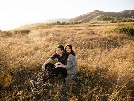 Malibu Golden Hour Engagements- Joelle & Levi