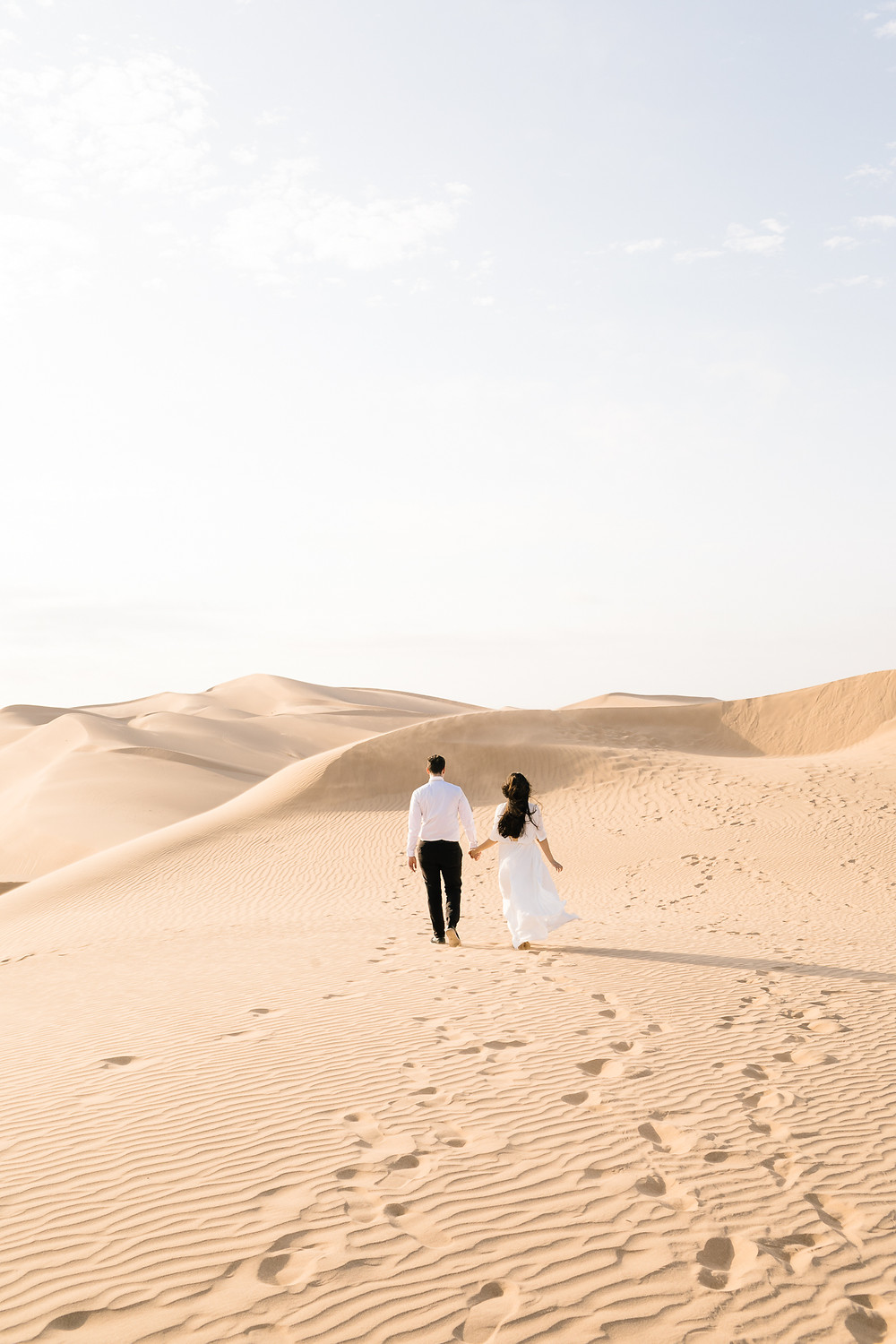 Glamis Sand Dunes wedding photos, modern couples photography in Southern California 2020