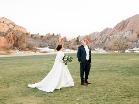 Kate & JT - Fort Collins, Colorado Winter Wedding
