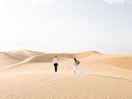 How to Get Stunning Wedding Photos at Glamis Sand Dunes