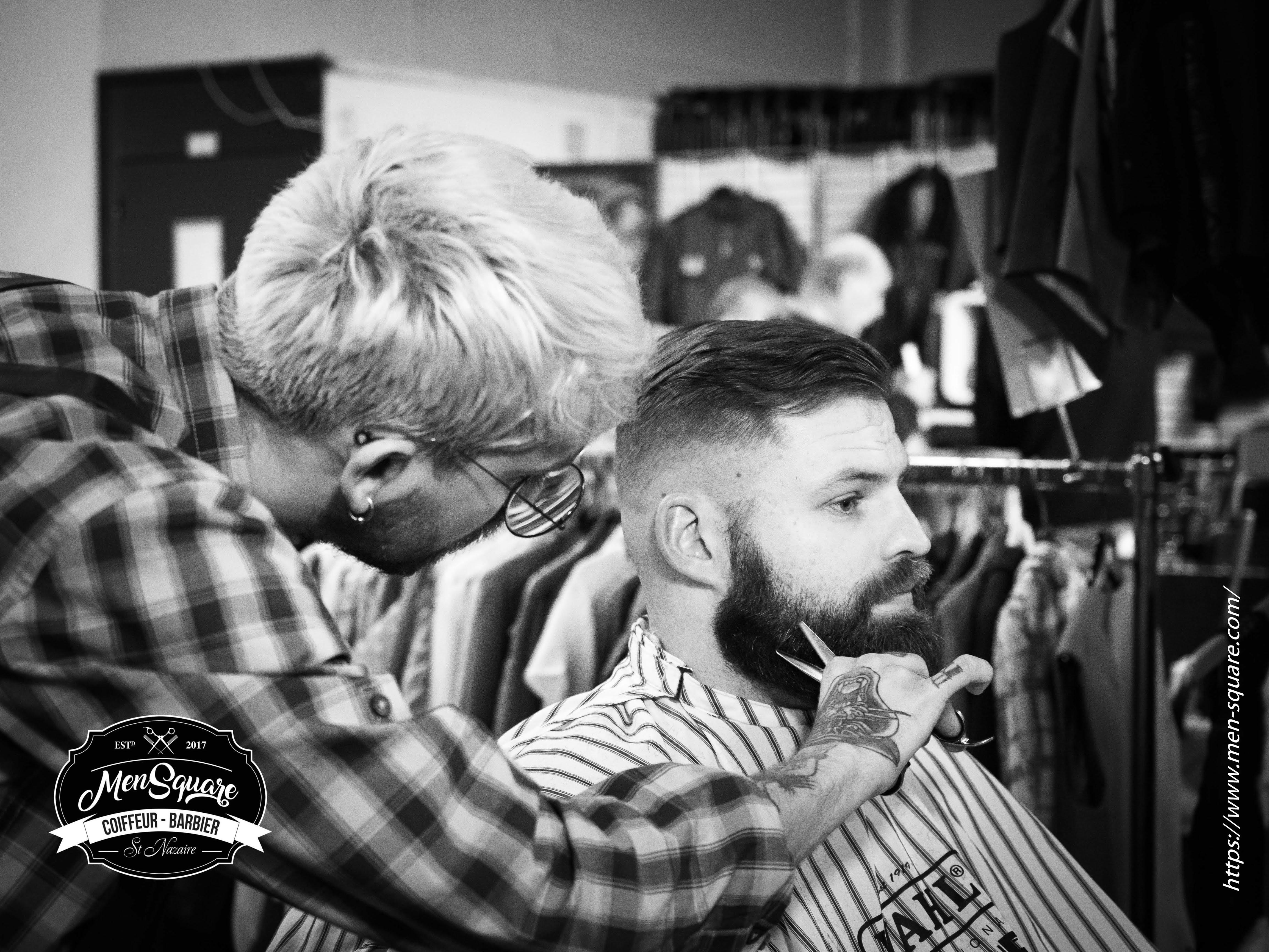 Barbe et coupe de cheveux