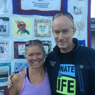 Susco 8K to honor Tim Susco who passed away due to a brain aneurysm and was an organ donor.