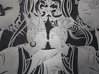 2021.03.6(土) - 2021.03.14(日) 祇をん 小西 で開催される望月めぐみさんの個展「交(まじらい) CROSS」にてUMA MINIが展示されます。(*購入可能)