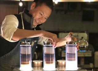 【終了】12月13日(金)PM1時~阪神梅田本店8階催場Good Coffee Fest内にて石田謙介バリスタによりアメリカンプレス 抽出ワークショップが開催されました。