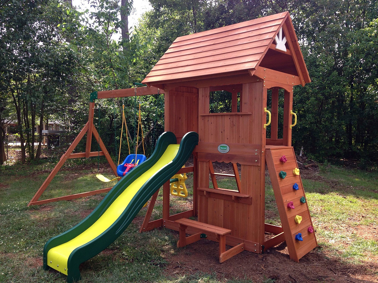 backyard playsets wooden backyard playsets backyard discovery