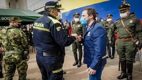 Nace la Región Metropolitana de Policía La Sabana, la más grande del país