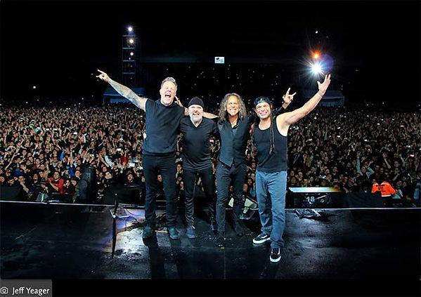 Metallica Colombia 2016 Chía
