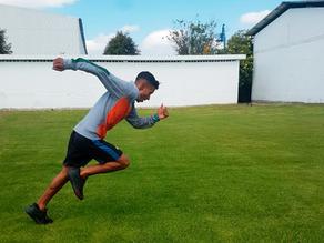 El retorno a la actividad física para Santiago Hernández, un atleta de Chía